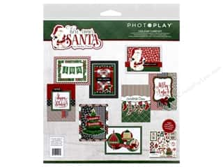 Photo Play Collection Here Comes Santa Card Kit