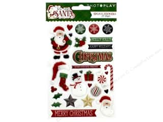Photo Play Collection Here Comes Santa Sticker Epoxy