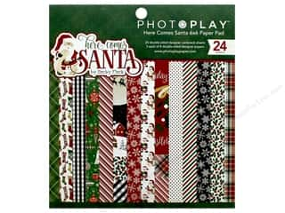 Photo Play Collection Here Comes Santa Paper Pad 6 in. x 6 in.