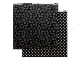 Clearance: Photo Play Collection Here Comes Santa Paper 12 in. x 12 in. Black (25 pieces)