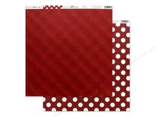 Photo Play Collection Here Comes Santa Paper 12 in. x 12 in. Red (25 pieces)
