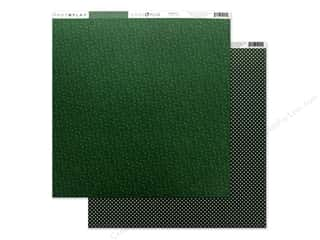 Clearance: Photo Play Collection Here Comes Santa Paper 12 in. x 12 in. Green (25 pieces)