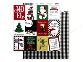 Clearance: Photo Play Collection Here Comes Santa Paper 12 in. x 12 in. Holly Jolly (25 pieces)