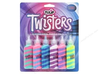 craft & hobbies: Tulip Dimensional Fabric Paint Twister Unicorn 6 pc