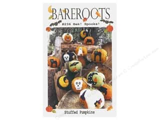 Bareroots Eek Spooks Stuffed Pumpkins Pattern