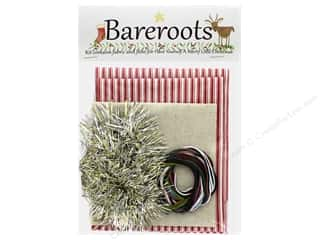 Bareroots Kit Fabric & Floss Have Yourself A Merry Little Christmas Pillow