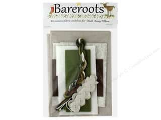Bareroots Kit Fabric & Floss Dash Away Pillow