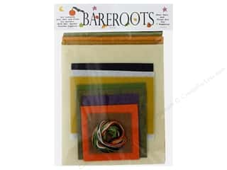 Clearance: Bareroots Kit Fabric & Floss Eek Spooks Stuffed Pumpkins