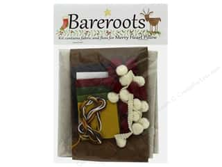 Clearance: Bareroots Kit Fabric & Floss Merry Heart Pillow