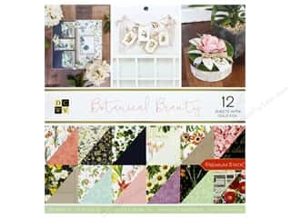 Premium Cardstock: DieCuts With A View Stacks Paper 12 in. x 12 in. Botanical Beauty