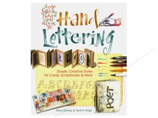 books & patterns: Hand Lettering Book