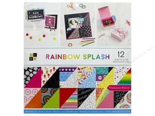 Premium Cardstock: DieCuts With A View Stacks Paper 12 in. x 12 in. Rainbow Splash
