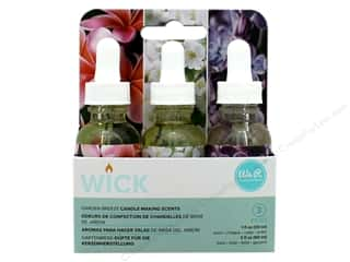 We R Memory Keepers Wick Candle Scent 3 pc. Garden Breeze