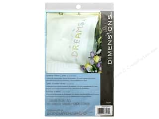 Dimensions Embroidery Pillow Case Dreams 2 pc