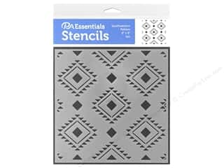 PA Essentials Stencil 6 x 6 in. South Western Pattern