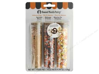 craft & hobbies: American Crafts Collection Sweet Tooth Fairy Sprinkles Mix Halloween Party 3 pc