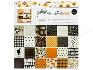 Pebbles Spooky Boo Paper Pad 12 in. x 12 in.