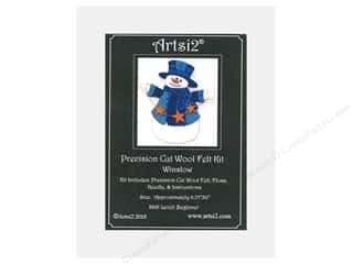 yarn & needlework: Artsi2 Precision Cut Wool Felt Kit Winslow