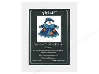 yarn & needlework: Artsi2 Precision Cut Wool Felt Kit Fiona