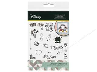 Clearance: Character World Stamp Disney Mickey & Minnie