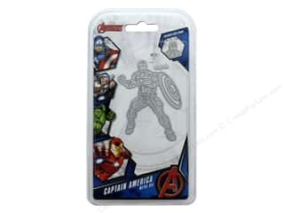 scrapbooking & paper crafts: Character World Die/Stamp Marvel Avengers Captain America