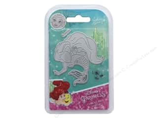 scrapbooking & paper crafts: Character World Die/Stamp Disney Mermaid Curious Ariel