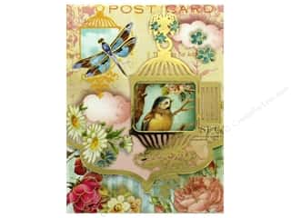 die cuts: Punch Studio Pocket Note Pad Window Whimsy Birdcage (2 pads)