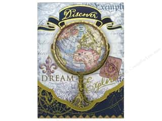 Punch Studio Note Pad Pocket Window Discover Globe