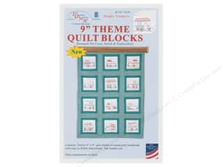 "yarn & needlework: Jack Dempsey 9"" Theme Quilt Blocks Campers"
