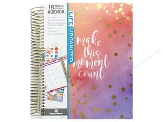 scrapbooking & paper crafts: Paper House Collection Life Organized Planner 18 Month Make This Moment Count