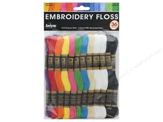 yarn: Janlynn Embroidery Floss Pack 36 pc. Primary