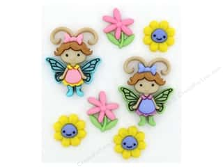 craft & hobbies: Jesse James Dress It Up Embellishments Flutter Bugs