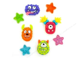 craft & hobbies: Jesse James Embellishments Monster Mash