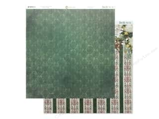 scrapbooking & paper crafts: Bo Bunny Yuletide Carol Paper 12 in. x 12 in. Joyous (25 pieces)