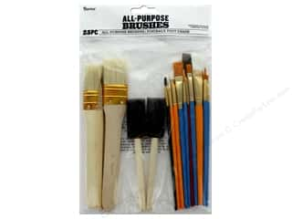 Darice Paint Brush Set 25 pc. Assorted