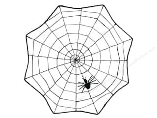novelties: Darice Decor Spider Web 17 in.