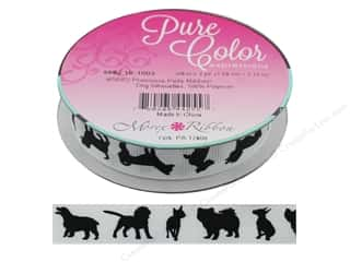Morex Ribbon Precious Pets 5/8 in. x  3 yd Dog Silhouettes