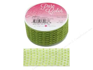 ribbon: Morex Ribbon Wire Victoria 1.5 in. x 3 yd Lime