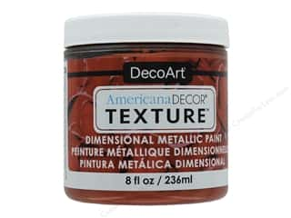 craft & hobbies: DecoArt Americana Decor Texture Metallics Copper 8 oz