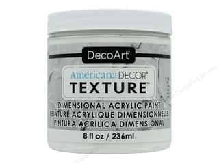 DecoArt Americana Decor Texture Paint - White 8 oz.