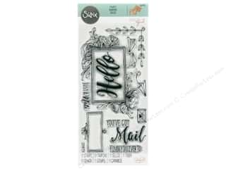 stamps: Sizzix Stamp Katelyn Lizardi Clear You've Got Mail