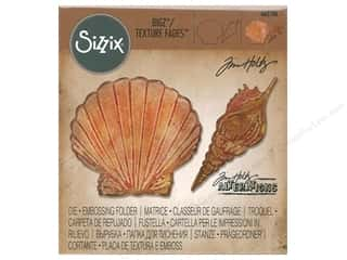 Clearance: Sizzix Tim Holtz Bigz Die with Texture Fades Seashells