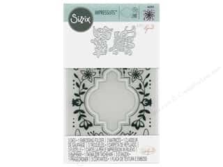 Sizzix Katelyn Lizardi Impresslits Embossing Folder Made With Love