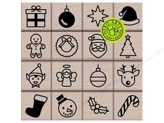 scrapbooking & paper crafts: Hero Arts Rubber Stamp Holiday Icons