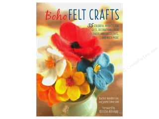decorative bird: Cico Boho Felt Crafts Book