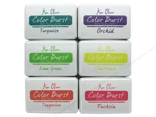 Contact Crafts Ken Oliver Color Burst Ink Pads 6 pc. Set 1