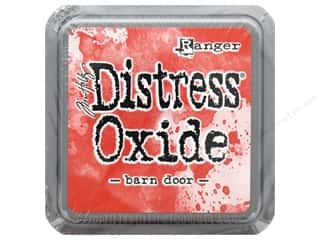 stamps: Ranger Tim Holtz Distress Oxide Ink Pad Barn Door