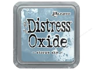 scrapbooking & paper crafts: Ranger Tim Holtz Distress Oxide Ink Pad Stormy Sky