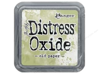 stamps: Ranger Tim Holtz Distress Oxide Ink Pad Old Paper