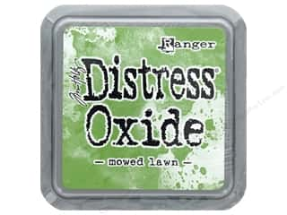 stamps: Ranger Tim Holtz Distress Oxide Ink Pad Mowed Lawn
